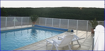Paplouf barriere piscine cloture piscine securite for Protection piscine